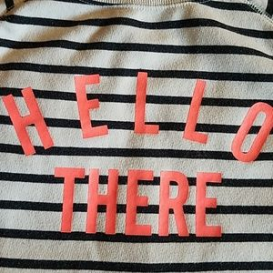 Old Navy Sweaters - Hello There sweatshirt